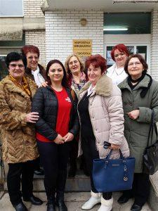 """Aktiv žena iz Ćuprije """"Naše zlatno doba"""" posetio pacijente u ćuprijskoj bolnici i obradovao ih poklonima!!!"""