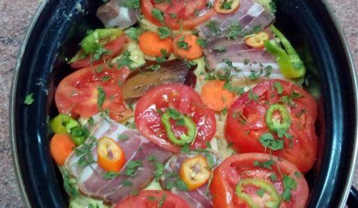RECEPT DANA-Meso sa povrćem ISPOD SAČA!!!