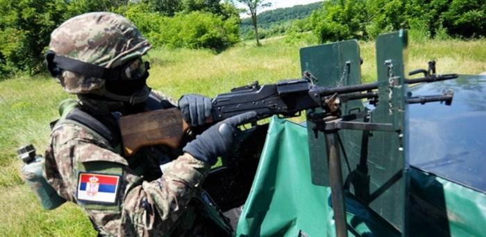 Snažna i hrabra vojska, opremljena i obučena, kao što je Vojska Srbije, garant je mira, slobode i nezavisnosti!!!