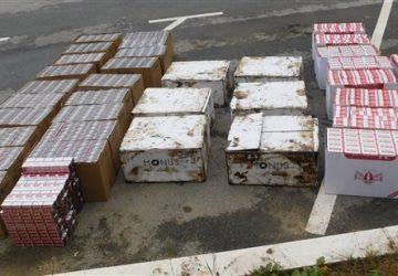 Pripadnici MUP-a u Valjevu zaplenili su oko 60.000 paklica cigareta!!!