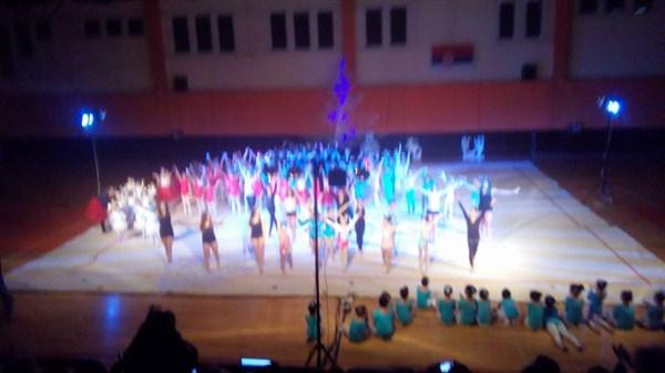 """U Svilajncu je održana osma Novogodišnja revija gimnastičarki iz kluba """"Evita""""!!!"""