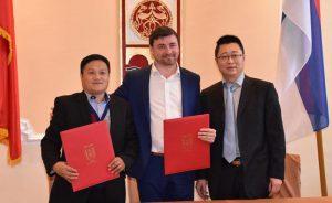 """Potpisan Memorandum o razumevanju sa kompanijom """"Blue Sky"""" u Ćupriji !!!"""