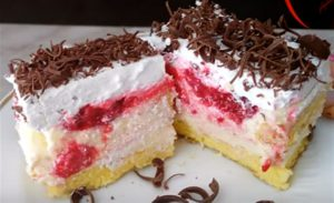 RECEPT DANA-JASTUK torta od malina!!!