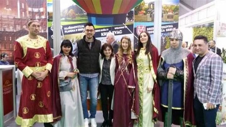 """Promocijim """"Tradicija budućnosti"""", na Sajmu se predstavila Turistička organizacija grada Kruševca!!!"""