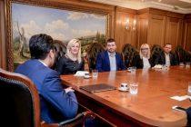 Delegacija Nacionalne alijanse za lokalni ekonomski razvoj Srbije je krajem januara održala sastanak sa premijerom Makedonije!!!