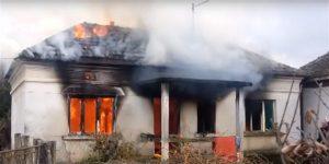 U selu Dublje kod Svilajnca brzom akcijom vatrogasaca ugašen je požar!!!