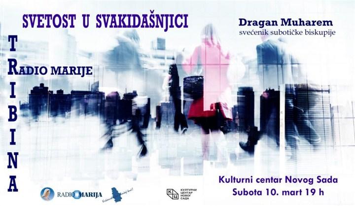"""Tribina """"Svetost u svakidašnjici"""" u Klubu """"Tribina mladih"""" Kulturnog centra Novog Sada!!!"""