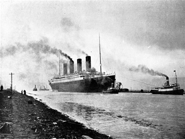 TITANIK-Na svoje je prvo i jedino putovanje krenuo 10. aprila 1912., a potonuo je pet dana kasnije !!!