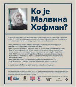 "Autor izložbe ""Ko je Malvina Hofman?"" Vladimir Čeh vodi kroz izložbu!!!"
