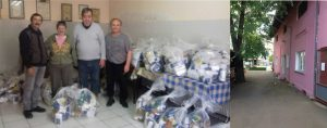 """Firma """"LUK OIL"""" je donirala pakete namirnica članovima Udruženja penzionera u Ćupriji!!!"""