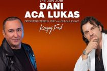 ACA LUKAS i DJANI su prvi izvođači na prvom Kraguj Festu!!!