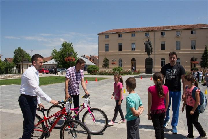 Promocija biciklizma među decom!!!