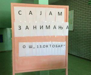 """U OŠ """"13. oktobar"""" u Ćupriji održan je Sajam zanimanja za učenike 7. i 8. razreda!!!"""