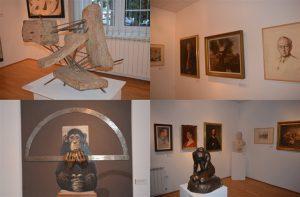 Otvorena IZLOŽBA Srpske akademije nauka i umetnosti – najveći umetnici PRVI put u Pomoravlju!!!