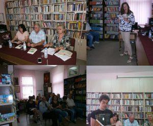 """Narodna biblioteka """"Dušan Matić"""" iz Ćuprije upriličila omaž svojim zavičajnim književnicima !!!"""