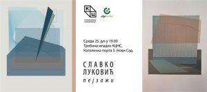 Izložba grafika Slavka Lukovića u Kulturnom centru Novog Sada !!!