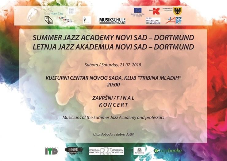 Završni koncert Letnje Jazz akademije Novi Sad !!!
