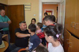 Mališani koji su korisnici Dnevnog boravka za decu i mlade su bili u poseti svilajnačkom TV Centru !!!