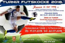 """Turnir """"FUTSKOCKE 2018"""" za početak SPORTSKOG LETA u Ćupriji!!!"""