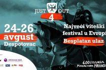 Festival JUST OUT u Despotovcu i manastiru Manasija 2018 !!!