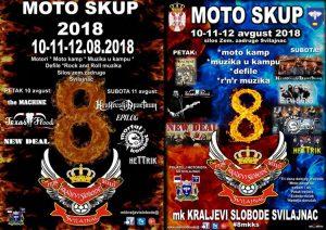 """Promocija moto skupa 2018. Moto kluba """"Kraljevi Slobode"""" iz Svilajnca !!!"""