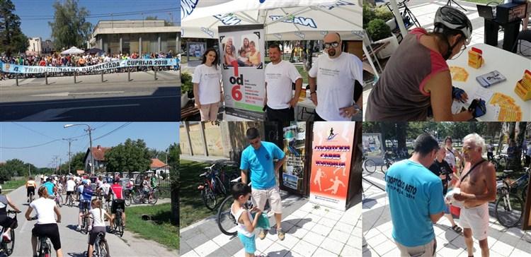 Održana je 4. BICIKLIJADA u Ćupriji !!!