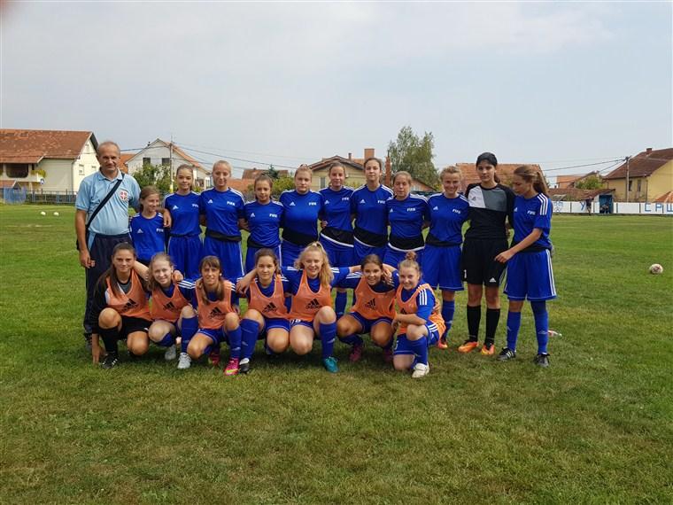 Juniorke ŽFK Sloga 036 odigrale su nerešeno protiv ekipe Radničkog iz Kragujevca !!!