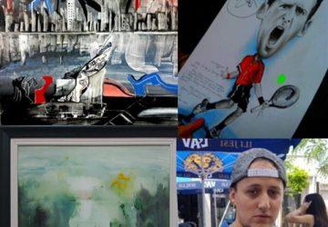 Student slikarstva iz Kraljeva, Dušan Ugrenović je u osnovnoj školi imao jedinicu iz likovnog jer nastavnik nije verovao da je sam slikao radove na zadatu temu !!!