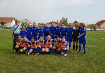 Juniorke ŽFK Sloga 036 odigraće prvenstvenu utakmicu sa ekipom Velike Plane !!!