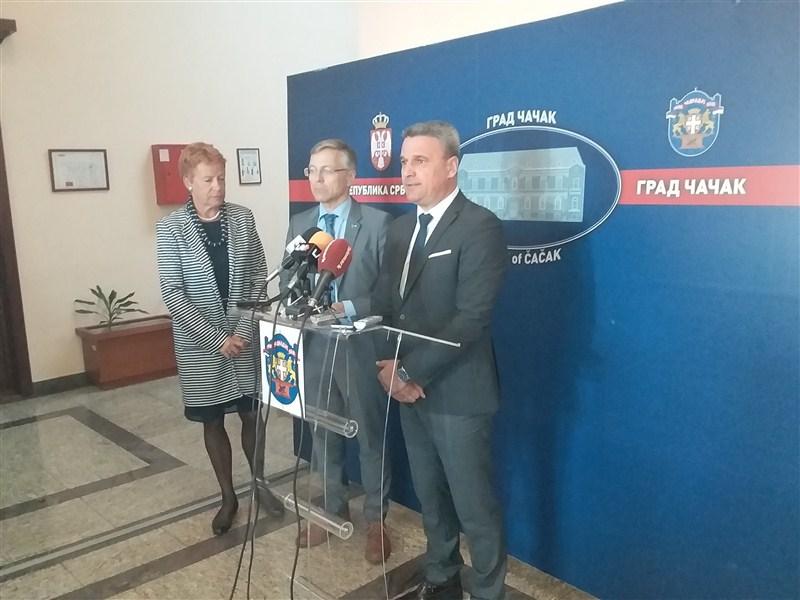 Proširenje saradnje između finskih i čačanskih preduzeća!!!