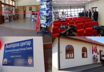 OTVOREN novi VIZITORSKI centar u Topoli !!!