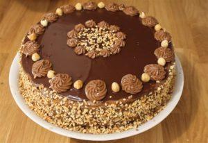 RECEPT DANA-Ferrero torta za hladne dane !!!
