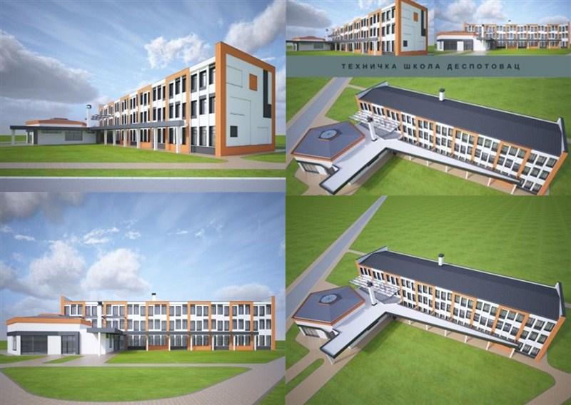 Despotovac konačno dobija kompletno rekonstruisanu Tehničku školu !!!
