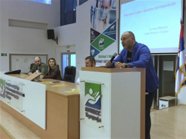 Povodom Svetskog dana moždanog udara u Ćupriji predavanje studentima u Visokoj medicinskoj školi !!!