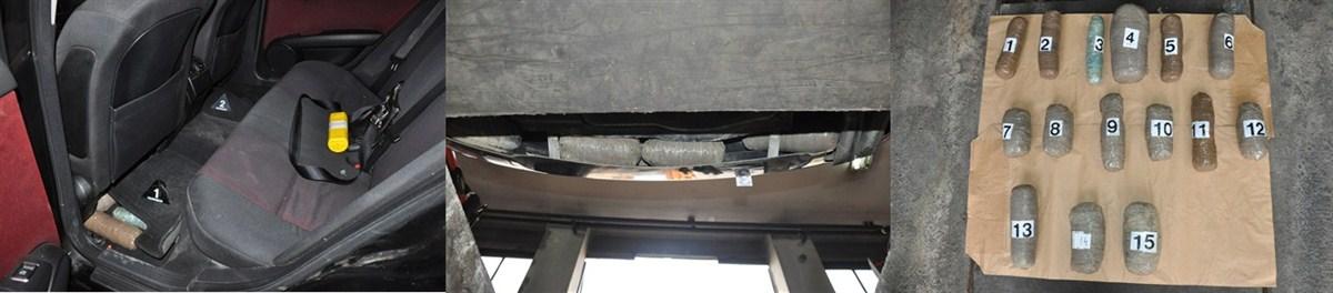 Policija je 5,4 kilograma marihuane pronašla u automobilu ''merscedes'' !!!