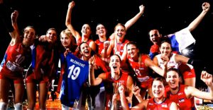 Ovacijama i skandiranjem pojedinačno su pozdravljene evropske i svetske šampionke !!!