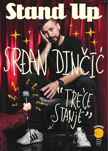 Srđan Dinčić će imati priliku da premijerno izvede '' Treće stanje'' i pred publikom u Jagodini!!!