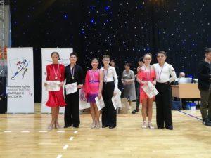 Mladi plesači čačanskog PK Luna poneli su tri odličja sa prvenstva Vojvodine!!!