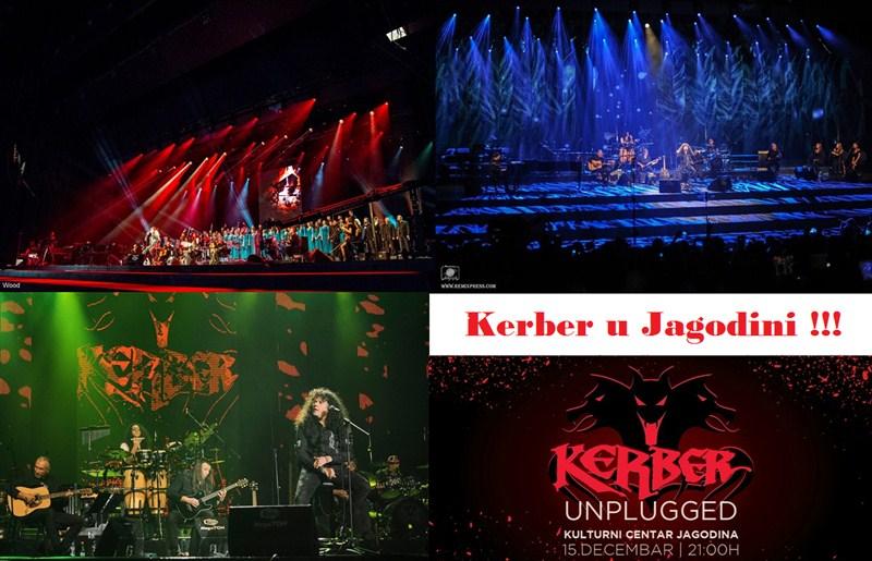 Akustični koncert jugoslovenske hard rock grupe Kerber u Jagodini !!!