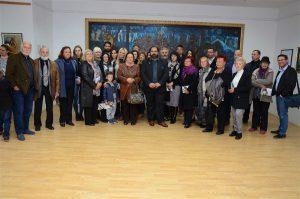 Otvorena 9. godišnja kolektivna izložba Zavičajnog kluba likovnih umetnika Ćuprije!!!