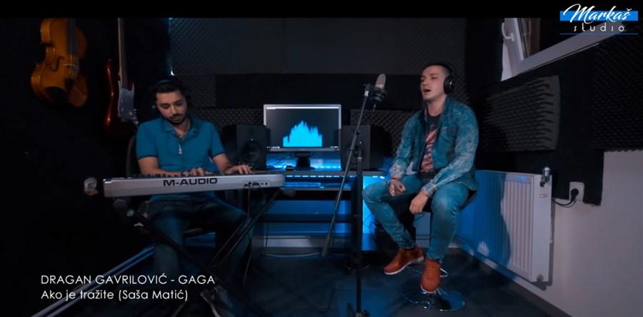 AKO JE TRAŽITE - Dragan Gavrilović Gaga snimio novi cover!!!