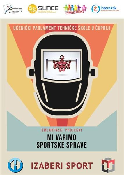 "Javni projekat ""Mi Varimo Sportske Sprave"" !!!"