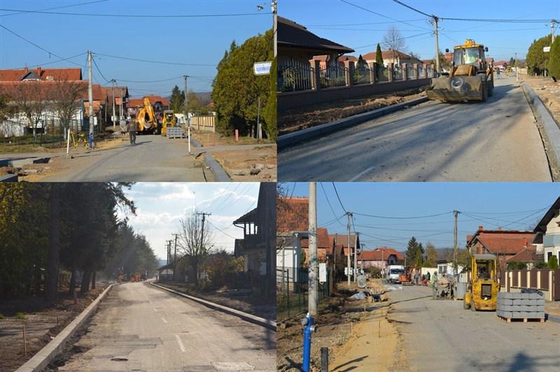 U toku su radovi na rekonstrukciji ulice Vojvode Putnika u Svilajncu !!!