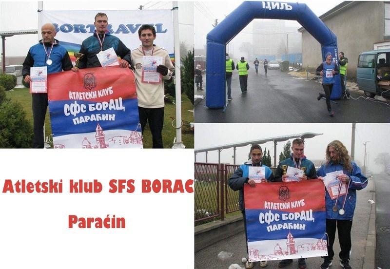 PANIĆ BRILJIRAO NA BORSKOM POLUMARATONU!!!