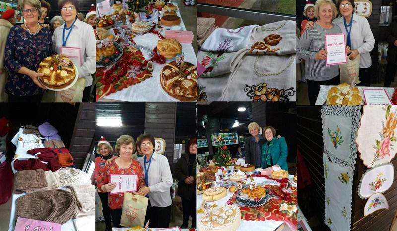 Aktiv žena NAŠE ZLATNO DOBA organizovao je NOVOGODIŠNJI BAZAR u Ćupriji !!!