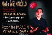 Marčelo - koncert i književno veče u Paraćinu !!!