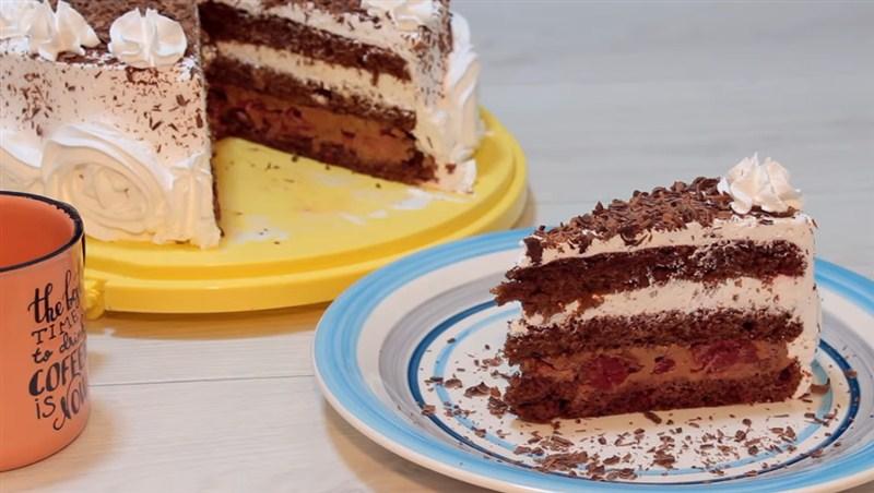RECEPT DANA-Praznična ŠVARCVALD torta!!!