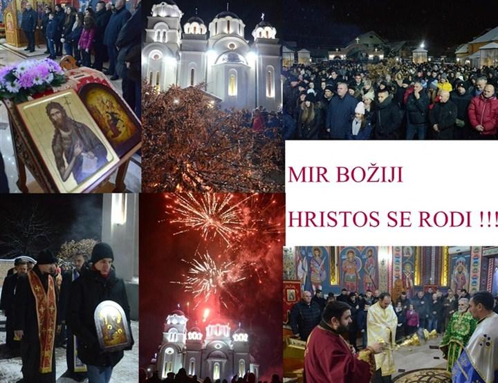 Dragan Marković čestitao Božić gradjanima Jagodine!!!
