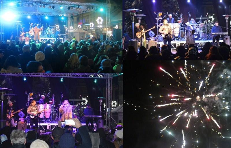 Svilajnčani su srpsku Novu godinu dočekali uz Snežanu Sneki Babić i Jellenu i Koktel bend!!!