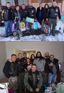 Članovi moto kluba IRON BRIDGE iz Ćuprije iznenadili poklonima malog Mateju !!!